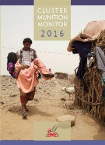 2016 Cluster Munition Monitor cover